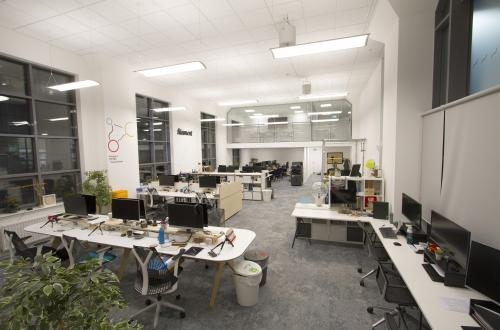 Flexible desk space available in Impressive Creative Office in Finnieston, Glasgow