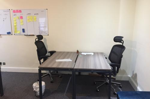 2 Desks in Exmouth Market!