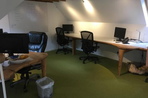 Desk in Fantastic Office in Aboyne, Aberdeenshire