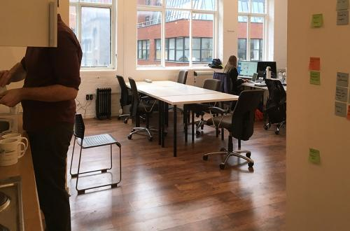 Desk space in Shoreditch / Old Street