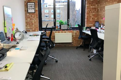 Desk Space in the Heart of Shoreditch