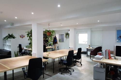 Affordable Desk Space in Hackney Creative Hub With Use of Huge Events Space!