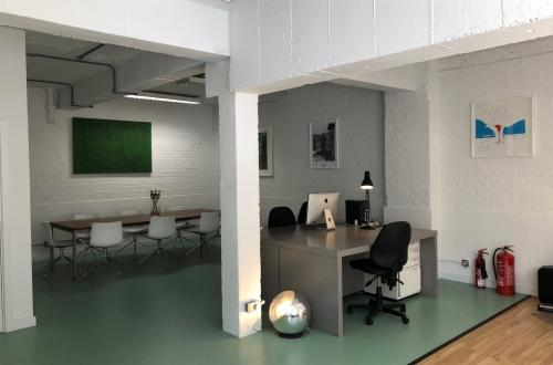 Desk Space in Creative Open Plan Office, London E2