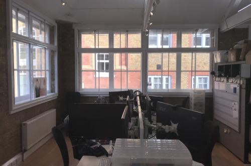 Modern, bright & spacious office space in Farringdon/Clerkenwell - Ideal for a Start-up!