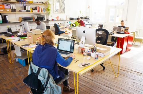 Flexible deskspace available in our welcoming, beautiful coworking space in Bethnal Green